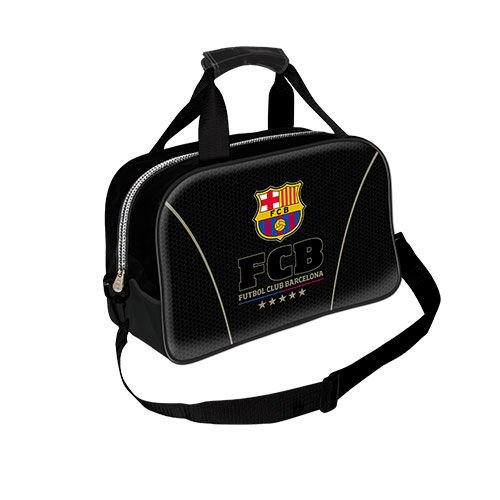 Karactermania Fc Barcelona 儿童运动包,38 cm,黑色