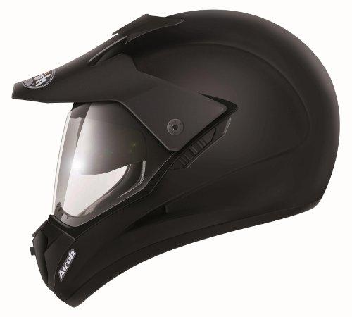 Airoh S502 Motorrad Helm S5, Größe : 60 cm, Schwarz