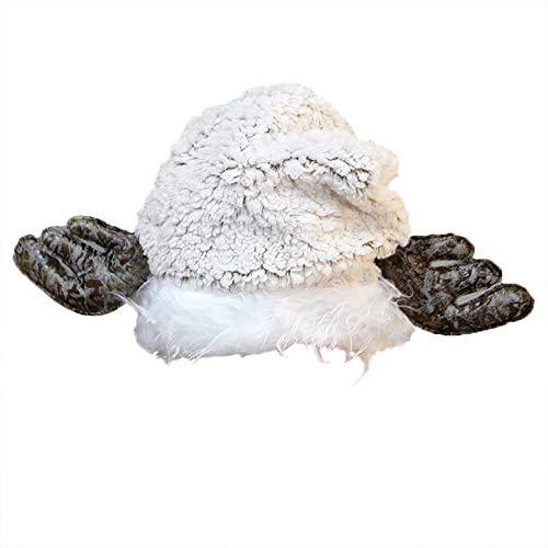 AIni Weihnachtshut Hut Erwachsenes Kindennettes Elch-Geweih Weihnachtsmann Mütze Hut Weihnachtsfeiertags-Party Unisex Damen Herren