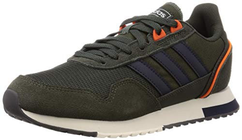 Adidas 8K 2020, Zapatillas para Correr para Hombre, Legend Earth/Legend Ink/Chalk White, 43 1/3 EU