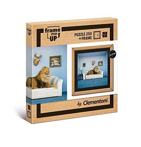 Clementoni- Puzzle con marco 250pThe master of house, Multicolor (38500) , color/modelo surtido