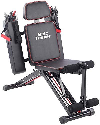 PEARL sports Ganzkörper Trainer: 40in1 Ganzkörper Krafttrainer HT-640 mit 40 Übungen (Multitrainer)