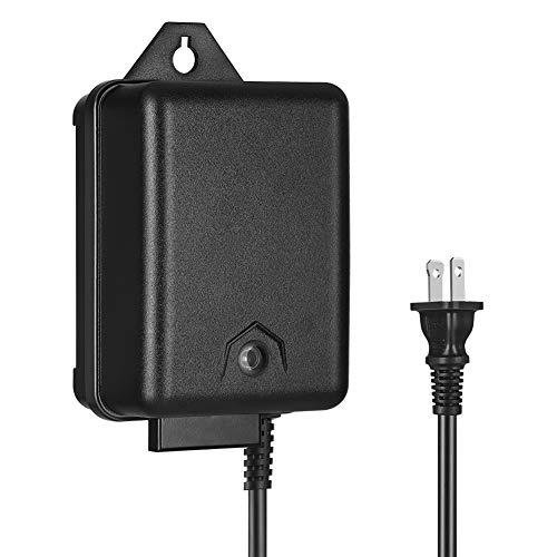 DEWENWILS 60 Watt Outdoor Low Voltage Transformer with Timer and Photocell Light Sensor, 120V AC to 12V AC, Weatherproof for Landscape Lighting, Pathway, Garden Light, Spotlight, UL Listed