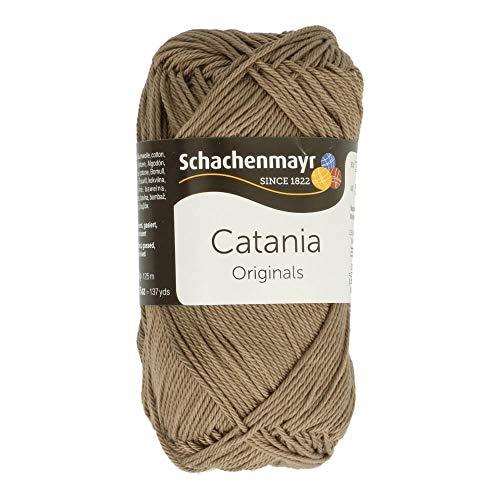 Schachenmayr Catania 9801210-00254 taupe Handstrickgarn, Häkelgarn, Baumwolle