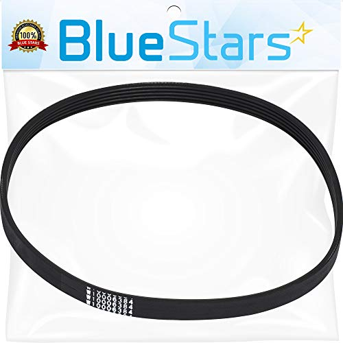 Ultra Durable W10006384 Washer Drive Belt Replacement Part by Blue Stars - Exact Fit for Whirlpool Maytag Kenmore Washers - Replaces WPW10006384 WPW10006384VP PS11747978 AP6014712