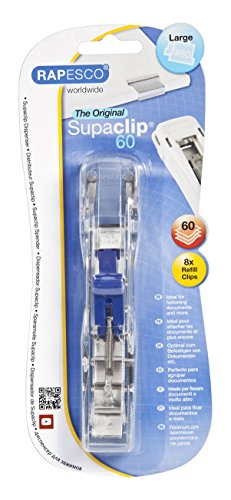 Rapesco Supaclip 60 Dispenser with 8 Clips
