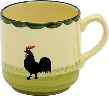 Preisvergleich für Zeller Keramik Kaffeebecher Hahn und Henne 0,3l
