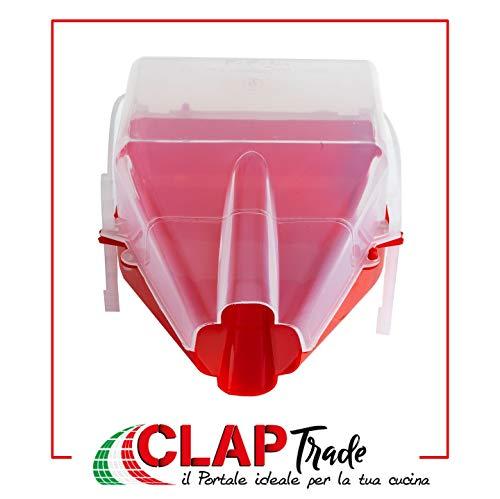 Plastic toon voor Passsapomodori Palmbo.