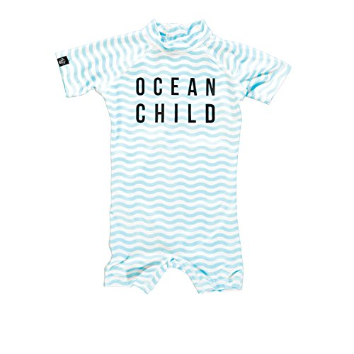 Strand & Bandieten Kinderen Oceaan Kind Shorty Uv Badpak