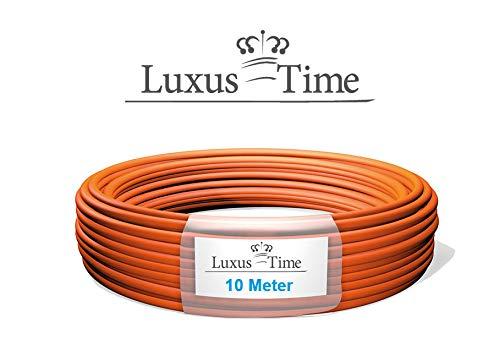 LAN Kabel Ethernet Kabel Duplex in verschiedenen Längen, Cat7 Verlegekabel, Halogenfrei, 10m/50m/100m, STP 2X4X2XAWG23 PIMF/FRNC (10 Meter Duplexkabel STP 2X4X2XAWG23 PIMF/FRNC)