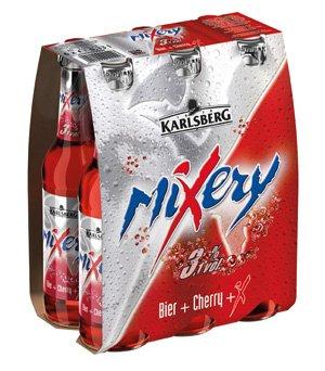 6 er Pack Karlsberg MIXERY SIXPACK 6x33cl BIER + CHERRY