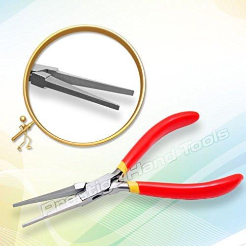 PTL Prestige Lang Flachzange Nadel Nase Schmuckherstellung Angel Werkzeuge 6