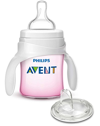 Philips Avent My First Transition Cup 4 oz, Pink, SCF259/02