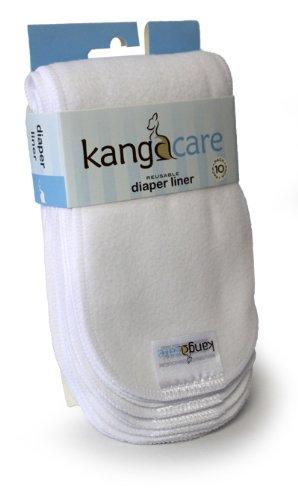 Kanga Care Reusable Microchamois Cloth Diaper Liner (10 Pack)