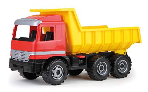 Lena 02031–Riesen Muldenkipper Actros 63cm, 3Achsen mit Ladekapazität Solide und Benne abschließbar