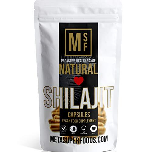 SHILAJIT | 60 Capsules | 2000mg | HIGH Potency | Premium Quality | Vegan | NO FILLERS NO Binders | Non GMO | Made in UK