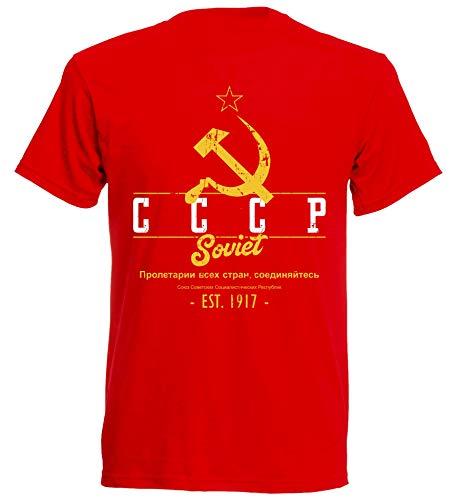 aprom CCCP T-Shirt Fußball Trikot UDSSR R 10 (L)