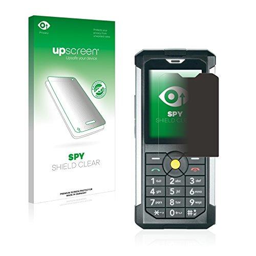 upscreen Anti-Spy Blickschutzfolie kompatibel mit Caterpillar Cat B100 Privacy Screen Sichtschutz Bildschirmschutz-Folie