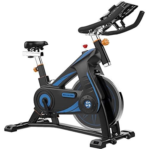 DJDLLZY Bicicleta de spinning, bicicletas de ejercicio, profesional cubierta bicicleta estática, acolchado del brazo apoyar la comodidad del asiento aptitud de recreación de bicicletas Trainer cubiert