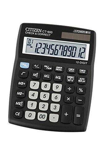 Citizen Desktop Calculator - CT 600J