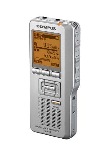 Olympus DS-2400 Digitales Diktiergerät silber