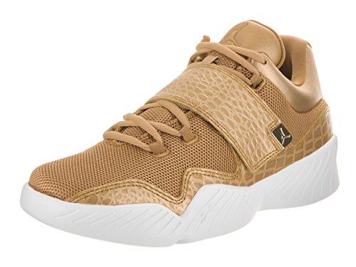 Nike Herren 854557-700 Basketballschuhe, Gold Metallic/Gold/Weiß, 41 EU