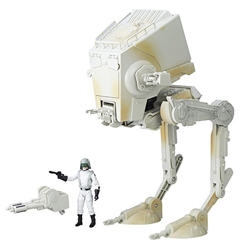 Star Wars Black Series Imperial AT-ST Walker with AT-ST Driver.