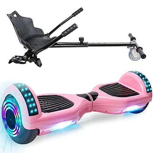 TOEU Hoverboard Scooter eléctrico Ruedas de 6.5