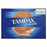 Tampax Tampons avec applicateur Super Plus - La boîte de 22 tampons