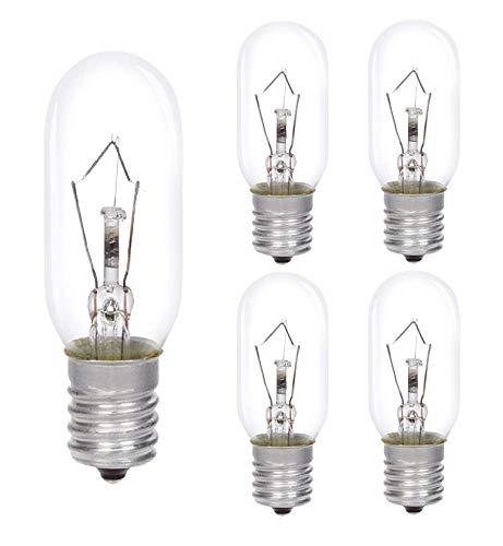 AcornSolution 40W Dunstabzugshaubenlampe Lampe,SES Dunstabzugshaube, Dunstabzugshaube Glühbirne,E14-Gewinde, T25, 240V AC, auch für Öfen geeignet [Energieklasse E] (5er Pack)