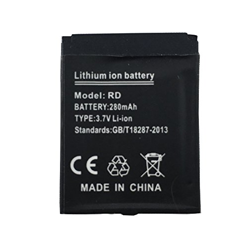 OCTelect Smart watch battery RD rechargable lithium battery with 380MAH capacity