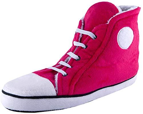 Hi Top Slippers Hausschuhe für Frauen Pink