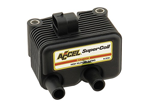 ACCEL 140409 Black Twin Cam Super Coil