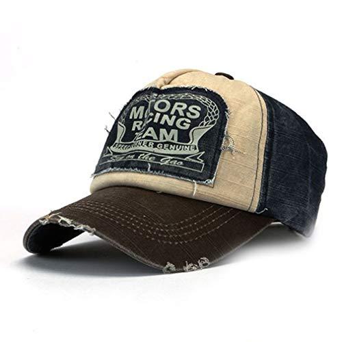 Retro unisex Motors Racing gorra de béisbol del algodón Hip Hop sombreros...