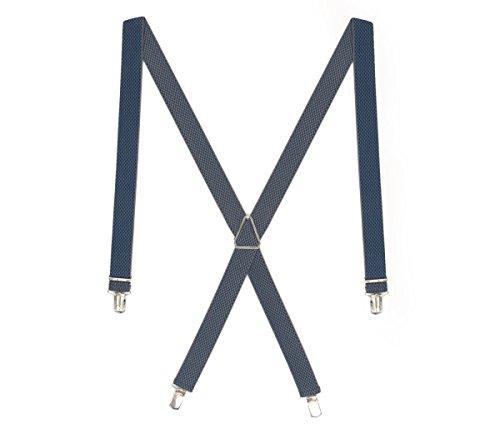 LLOYD Hosenträger Herrenhosenträger Blau 2927, Farbe:Blau, Länge Hosenträger:120 cm