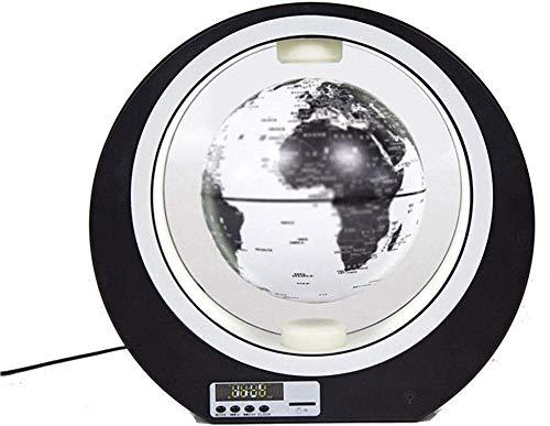 JNMDLAKO Hermosa levitación magnética de 3'con luz LED, Globo Flotante Gris antigravedad para niños año Estilo # 4
