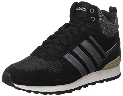 adidas 10Xt WTR Mid, Zapatillas Altas Hombre, Negro (Core Black/Grey Five/Trace Khaki), 45 1/3 EU
