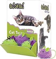 OURPETS COMPANY 090052 Go Cat go Mini Hairy Mouse Bulk Display, 48Piece 141[並行輸入]