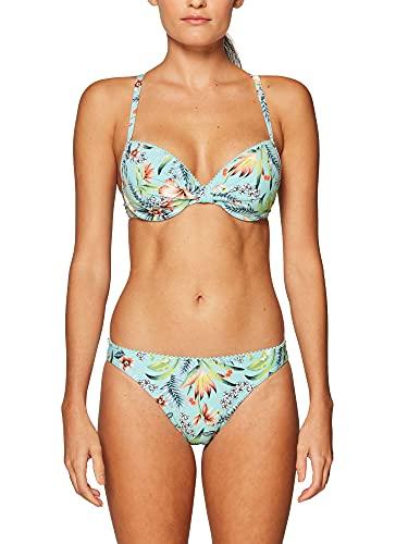 ESPRIT Damen South Beach Mini Brief Bikinihose, 470/TURQUOISE, 38