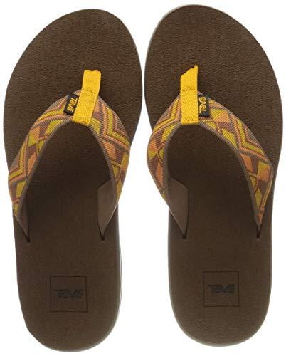 Teva Damen Voya Flip Sandal Womens Zehentrenner, Gelb (Cayambe Sunflower Csfl), 38 EU