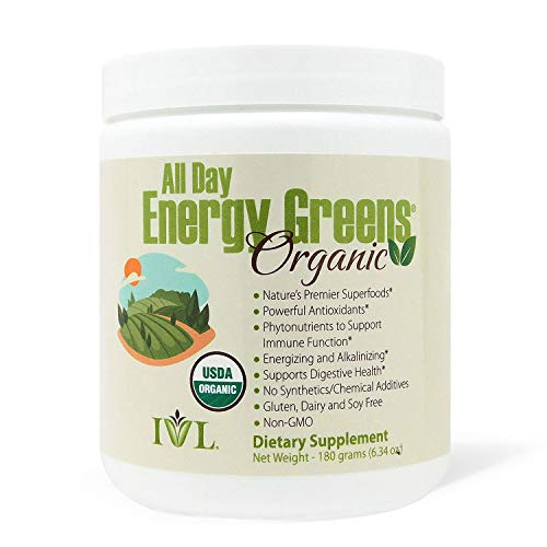 IVL - All Day Energy Greens Organic | Amazon
