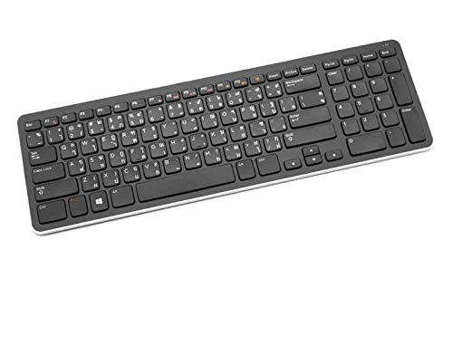 Dell Premier Wireless Keyboard and Mouse Combo, Ultra Thin Portable Black Computer Keyboard with Wireless Mouse, KM713