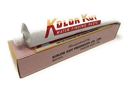 Kolor Kut Pasta Rivela Acqua, tubetto da 85 g, per rilevare infiltrazioni nocive di Acqua nei Serbatoi di Carburante e Olio combustibile