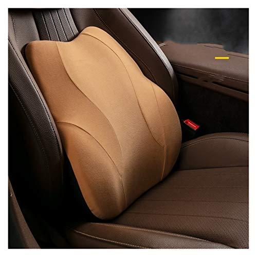 Almohada del reposacabezas y el cuello del asiento Adecuado para la mayoría de los coches | Cojín de soporte lumbar | Relieve Fatiga del conductor | Accesorios interiores automotrices | Suave y cómodo
