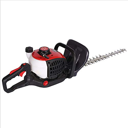 UWINGARDEN Professional Petrol Hedge Trimmer 650W, 2-Stroke 25cc Hand-held Hedge cutter, 700mm Cutting Blade Length, 120 Degrees Adjustable Rotating Handle