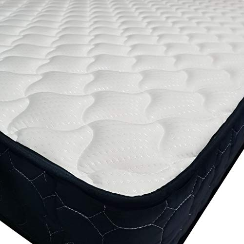 Panana Quilted Fabric Cover Orthopaedic Spring Mattress High Density Mattress (5ft King-Size,150 * 190cm)