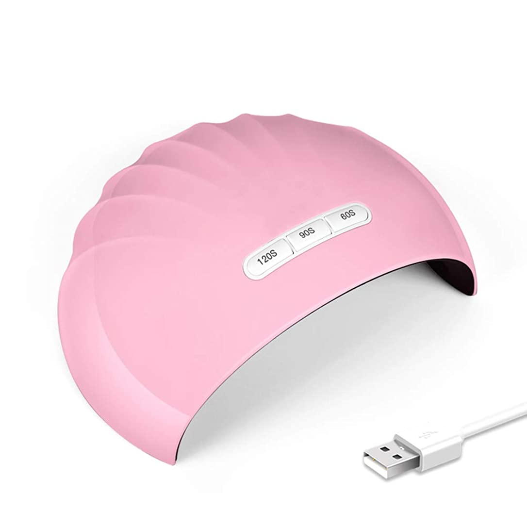 36W UV 光 LED ネイルドライヤー硬化ランプ用爪 & 爪ゲルベースポリッシュセンサー付き, 60 年代 90 120 秒タイマー,Pink