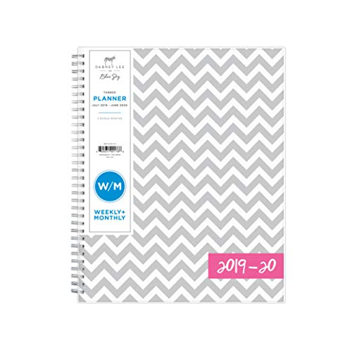 Dabney Lee for Blue Sky 2019-2020 Academic Year Weekly & Monthly Planner, Flexible Cover, Twin-Wire Binding, 8.5u0022 x 11u0022, Ollie