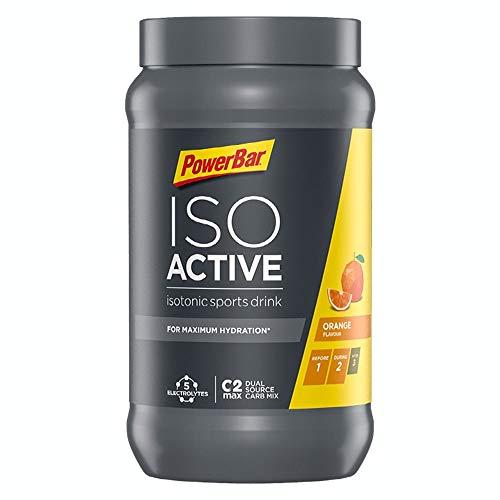 PowerBar Isoactive Orange 1320g - Isotonisches Sportgetränk - 5 Elektrolyte + C2MAX