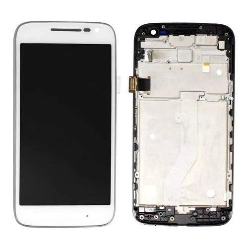 Tela Touch Display Lcd Motorola Moto G4 Play XT1600 XT1603 Branco C/Aro